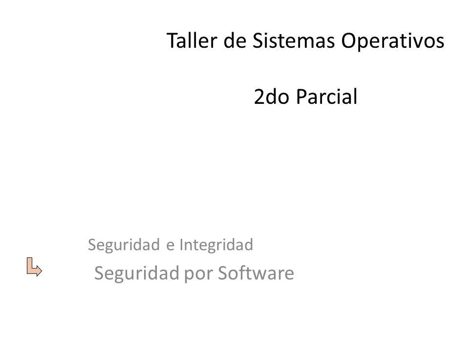 Taller de Sistemas Operativos 2do Parcial