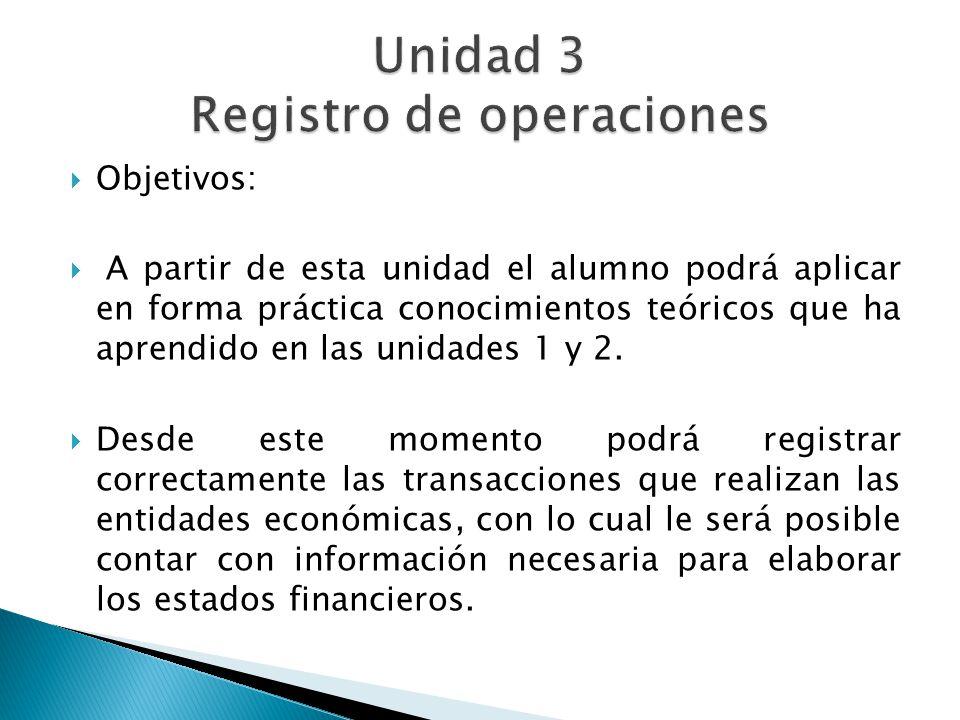 Unidad 3 Registro de operaciones