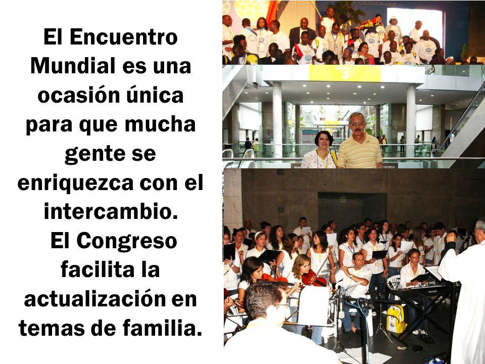 El Congreso facilita la actualización en temas de familia.