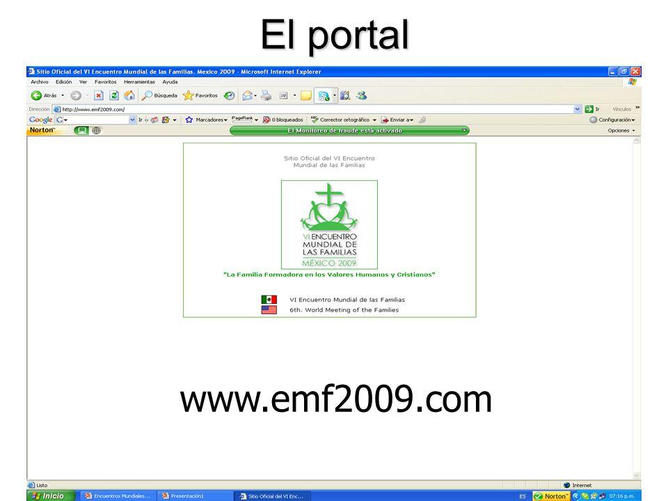 El portal www.emf2009.com