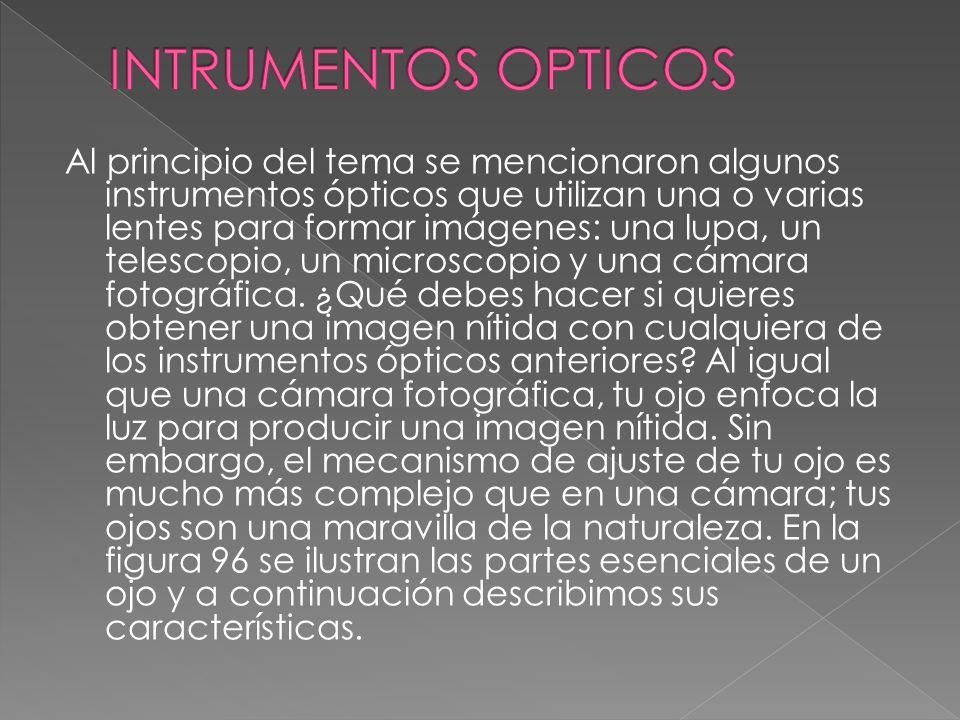 INTRUMENTOS OPTICOS