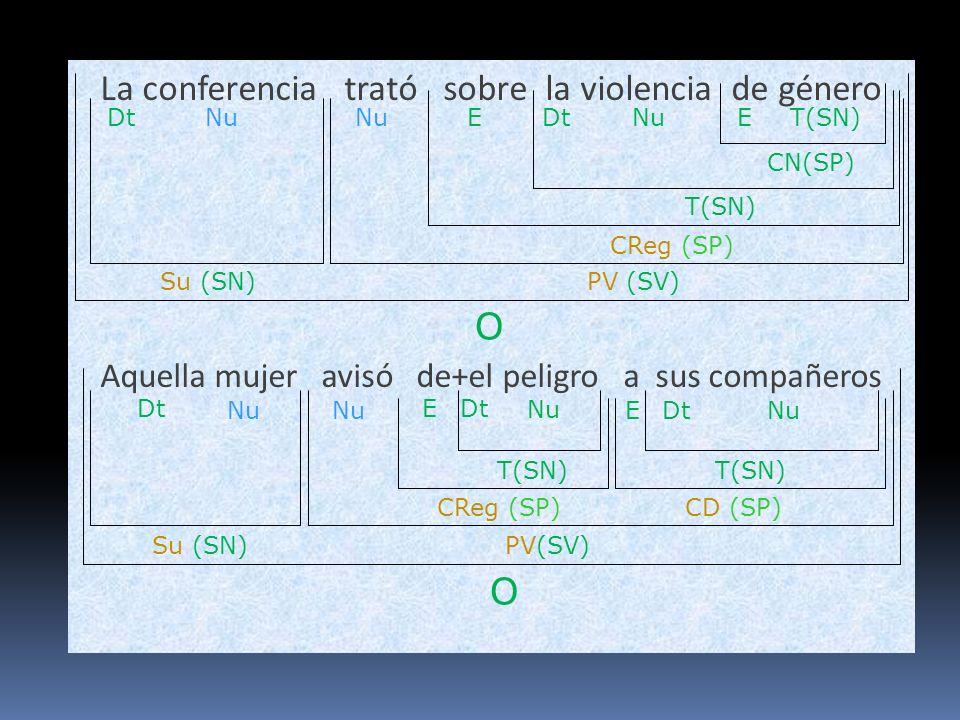 La conferencia trató sobre la violencia de género