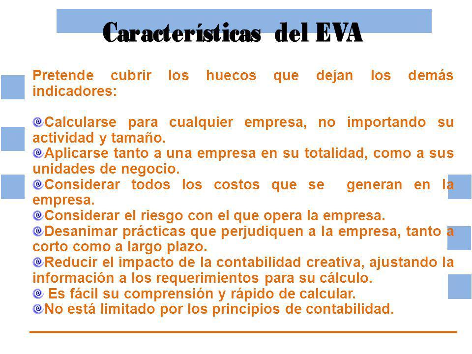 Características del EVA