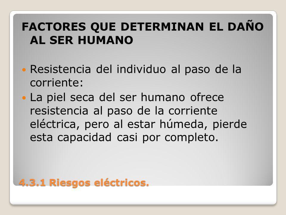 FACTORES QUE DETERMINAN EL DAÑO AL SER HUMANO