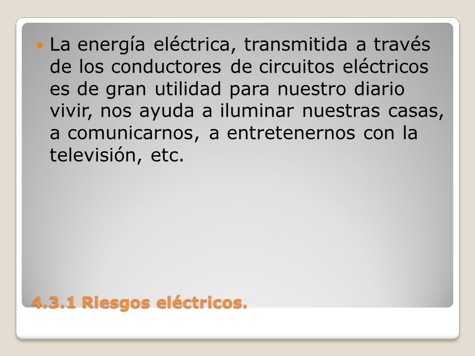 La energía eléctrica, transmitida a través de los conductores de circuitos eléctricos es de gran utilidad para nuestro diario vivir, nos ayuda a iluminar nuestras casas, a comunicarnos, a entretenernos con la televisión, etc.