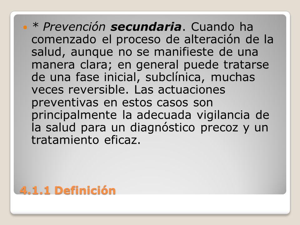 Prevención secundaria