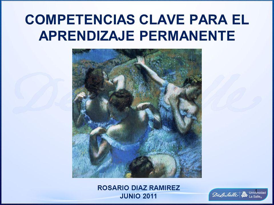 COMPETENCIAS CLAVE PARA EL APRENDIZAJE PERMANENTE