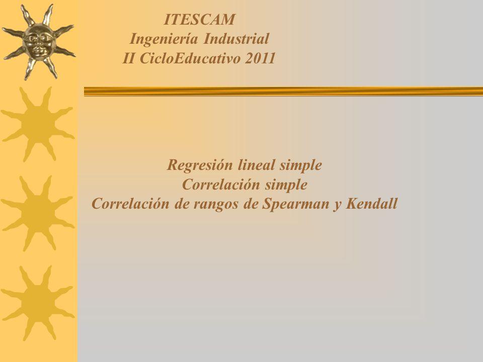 Ingeniería Industrial II CicloEducativo 2011