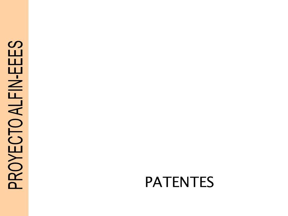 PROYECTO ALFIN-EEES PATENTES
