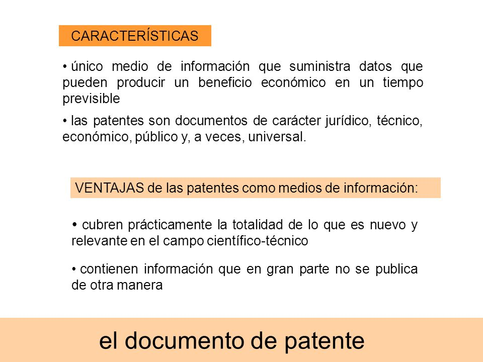 el documento de patente