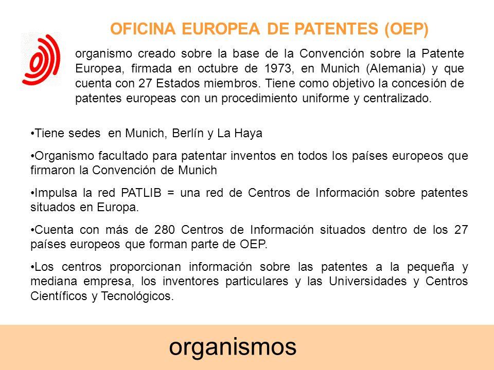 OFICINA EUROPEA DE PATENTES (OEP)