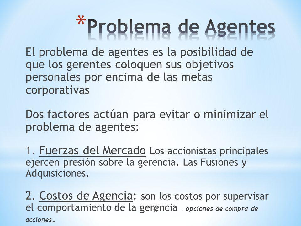 Problema de Agentes