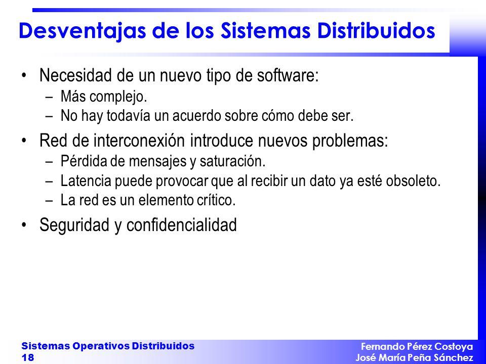 Aplicaciones de los Sistemas Distribuidos