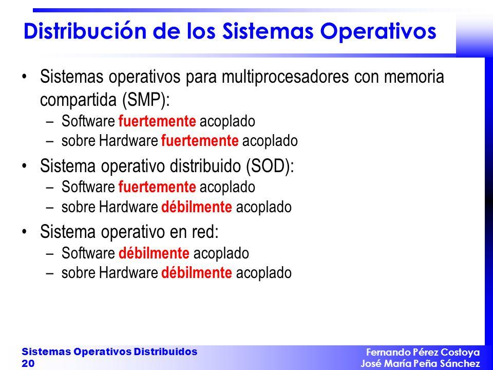 Sistemas Operativos para SMPs