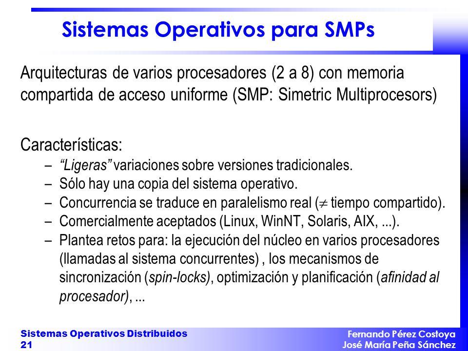 Sistemas Operativos Distribuidos (SOD)