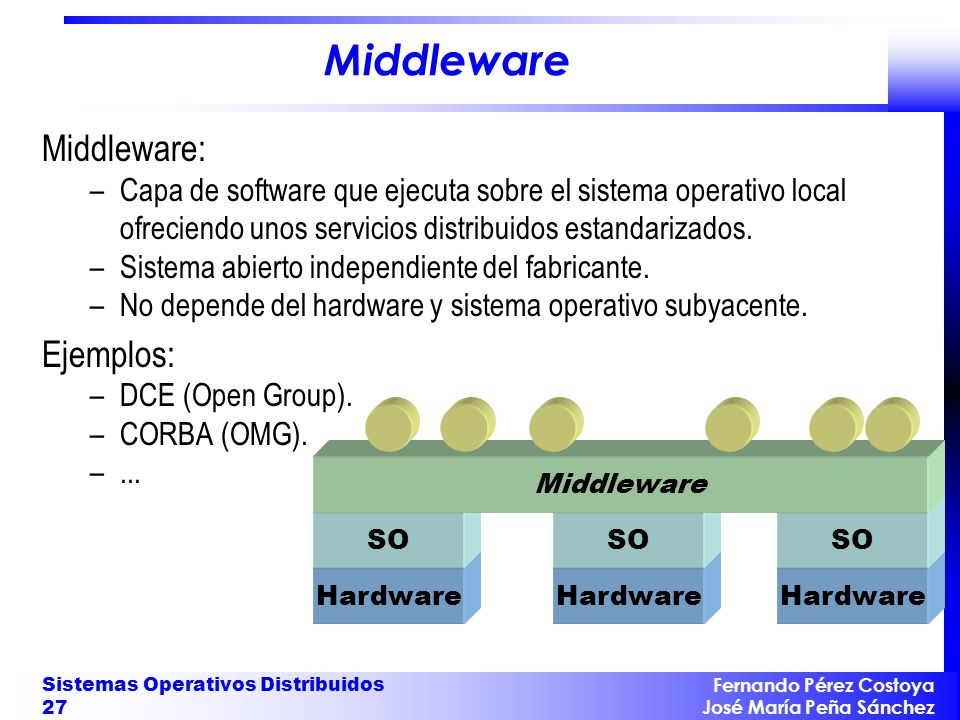 Objetivos de un Sistema Distribuido