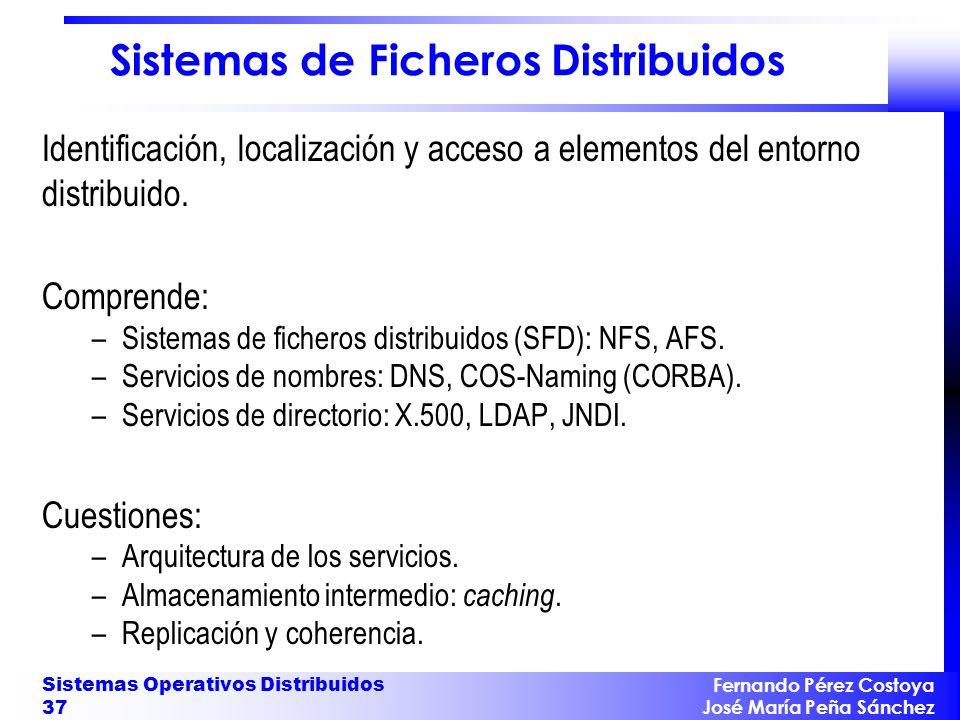 Servicios de Sincronización y Coordinación