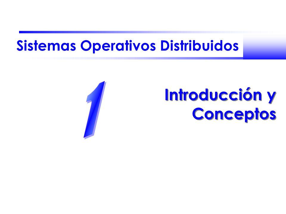 Contenidos del Tema Evolución de los sistemas operativos:
