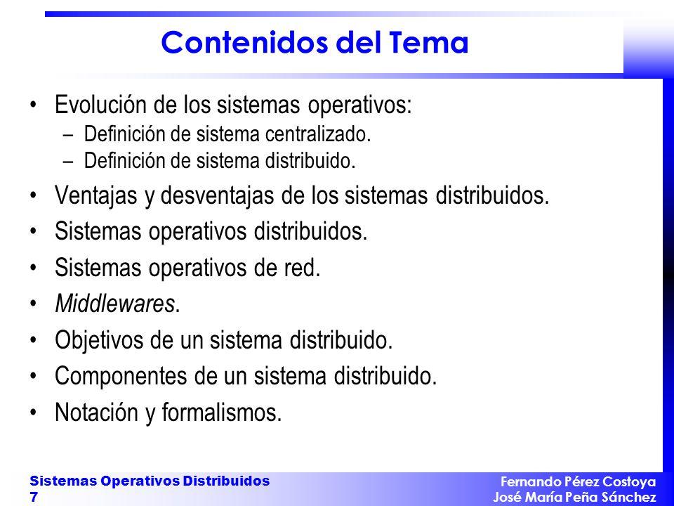 Arquitectura de Sistemas Centralizados