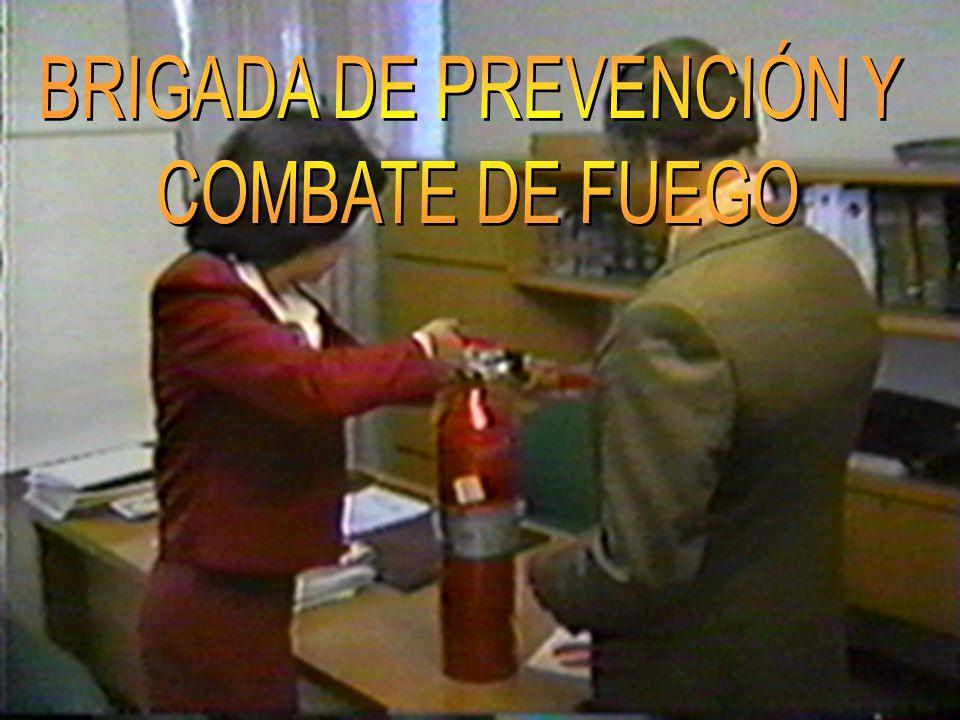 BRIGADA DE PREVENCIÓN Y