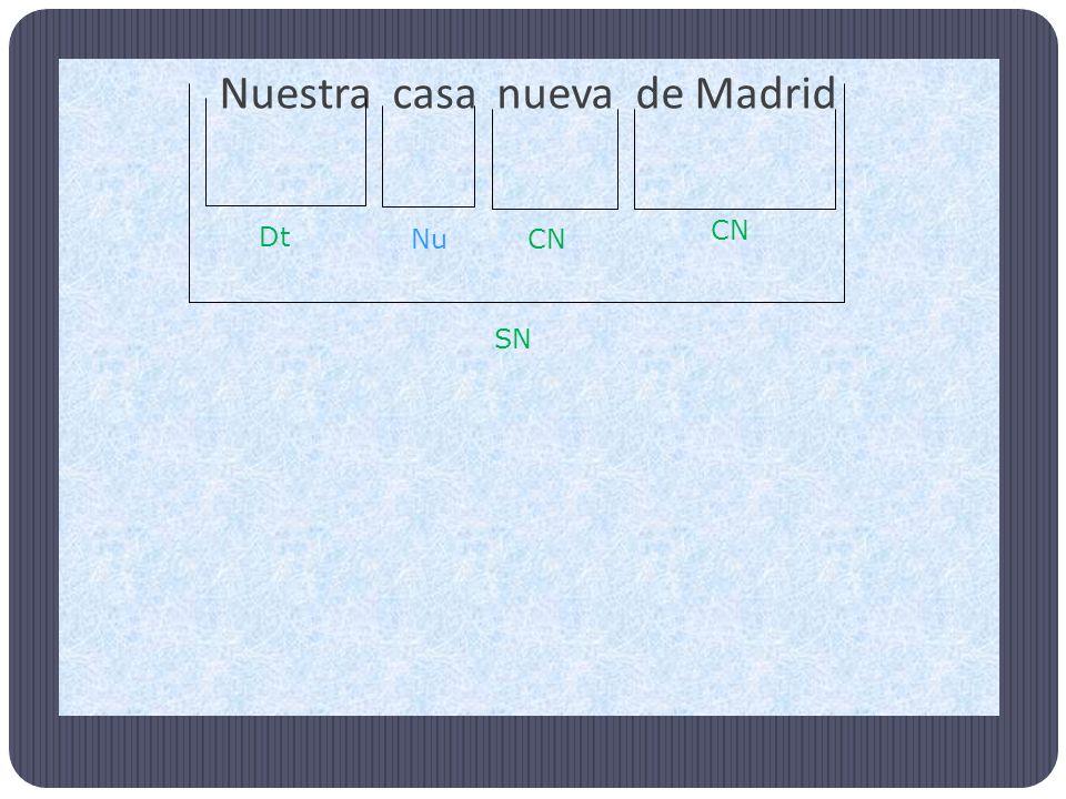 Nuestra casa nueva de Madrid
