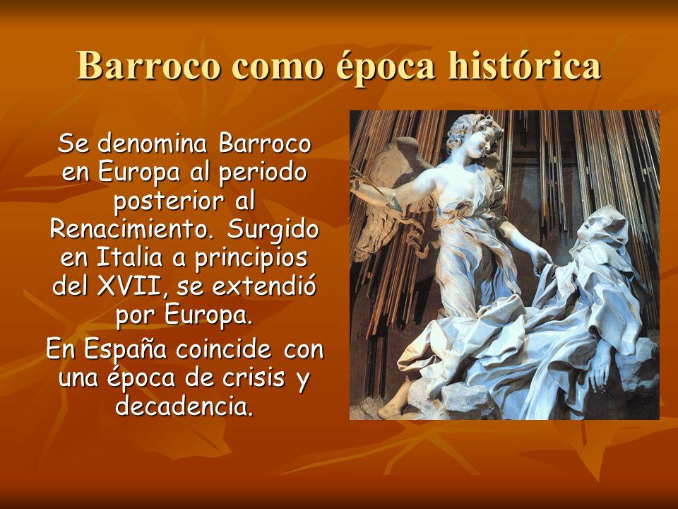 Barroco como época histórica