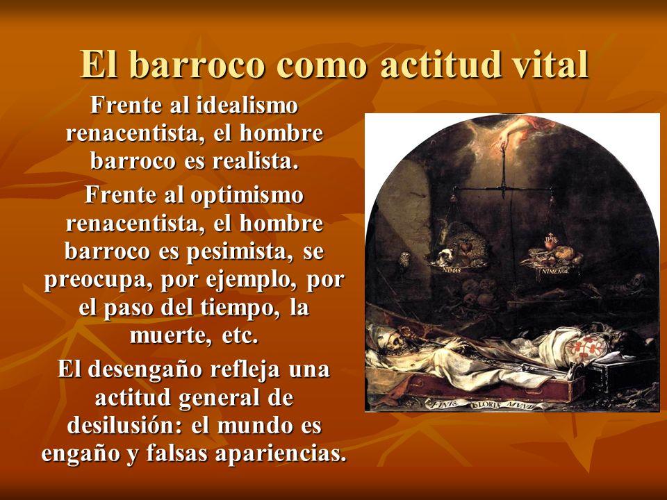 El barroco como actitud vital