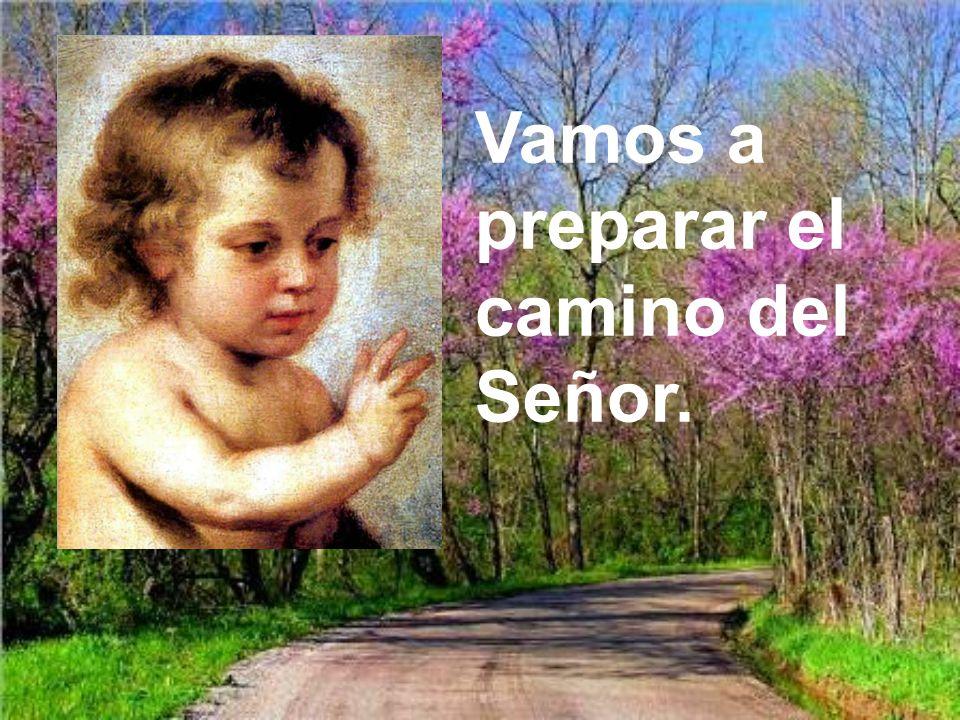 Vamos a preparar el camino del Señor.