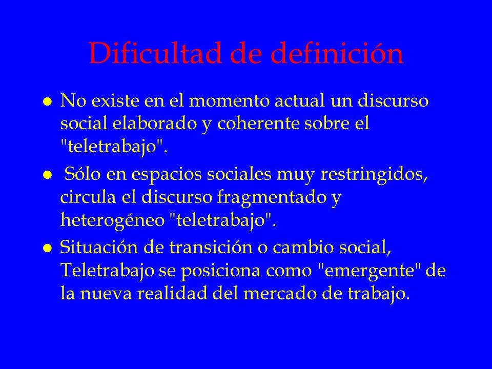 Dificultad de definición