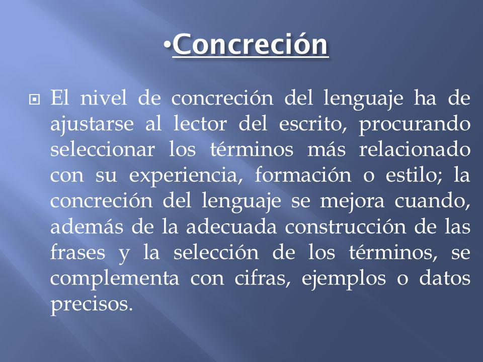 Concreción