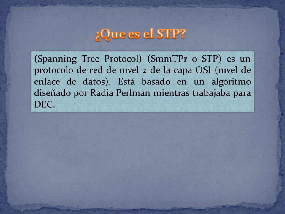 ¿Que es el STP