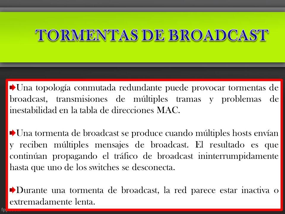 TORMENTAS DE BROADCAST