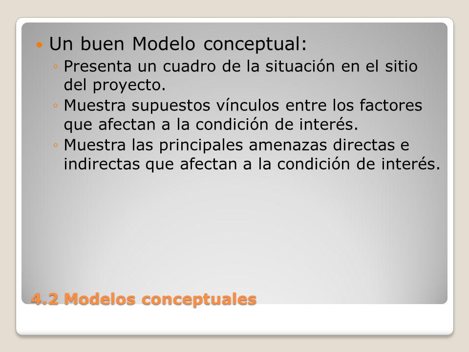 Un buen Modelo conceptual: