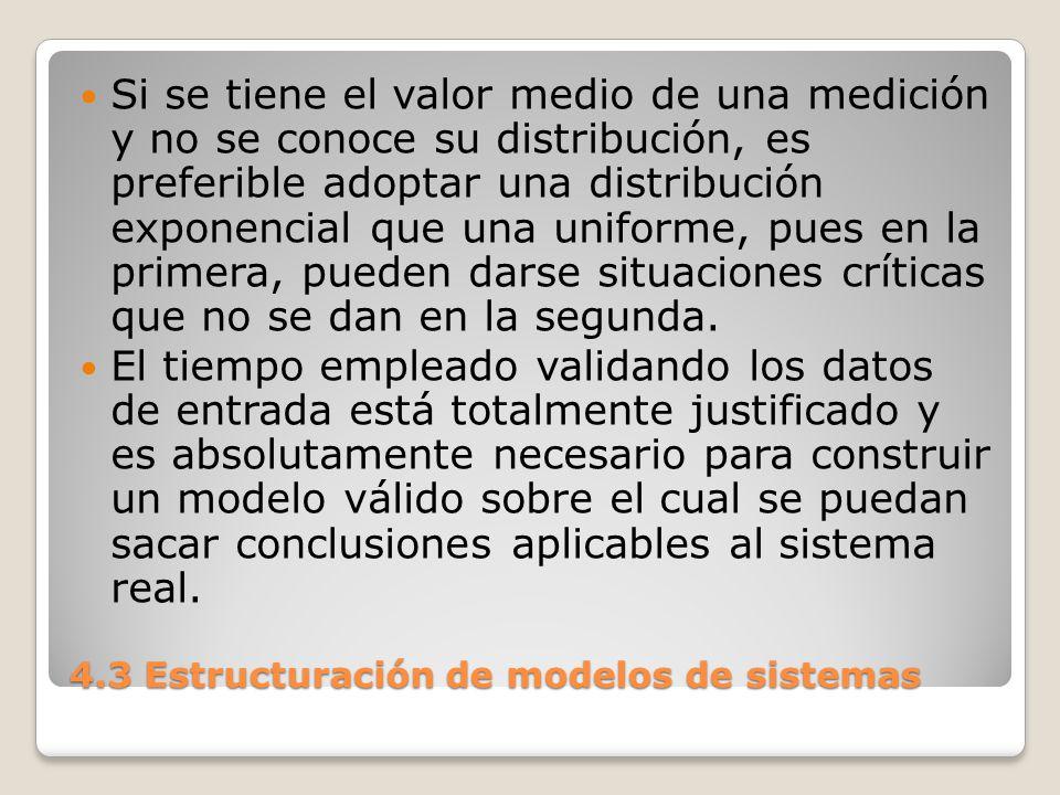 4.3 Estructuración de modelos de sistemas