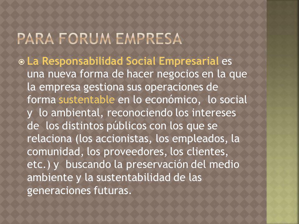 para Forum Empresa