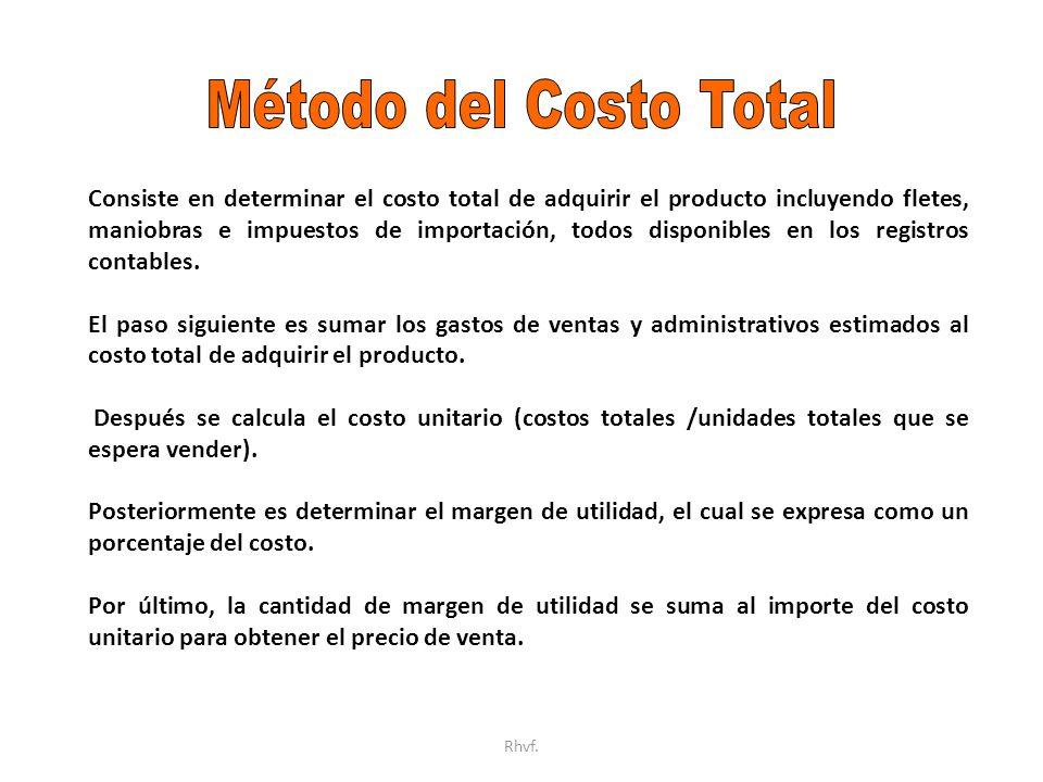 Método del Costo Total