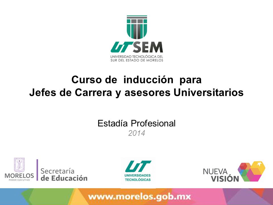 Curso de inducción para Jefes de Carrera y asesores Universitarios
