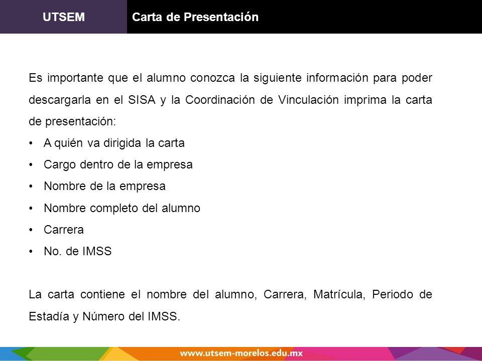 UTSEM Carta de Presentación.