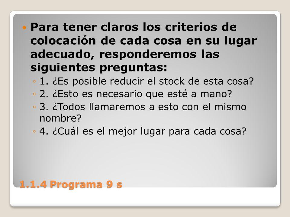 Para tener claros los criterios de colocación de cada cosa en su lugar adecuado, responderemos las siguientes preguntas: