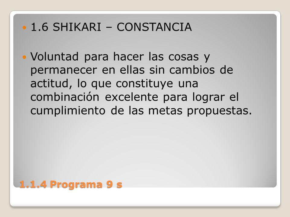 1.6 SHIKARI – CONSTANCIA