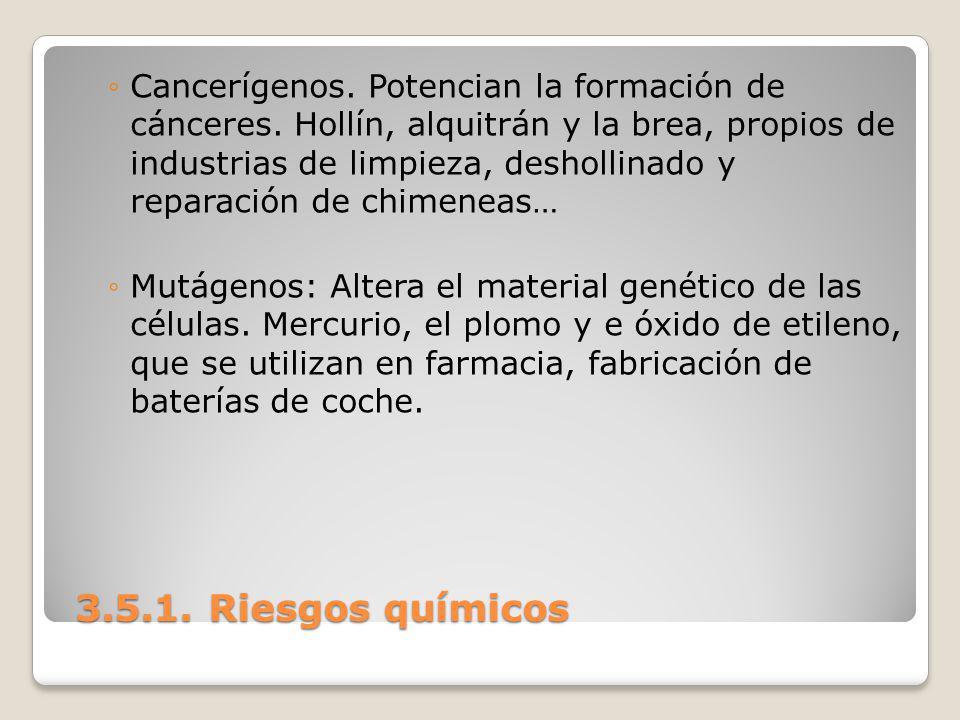 Cancerígenos. Potencian la formación de cánceres