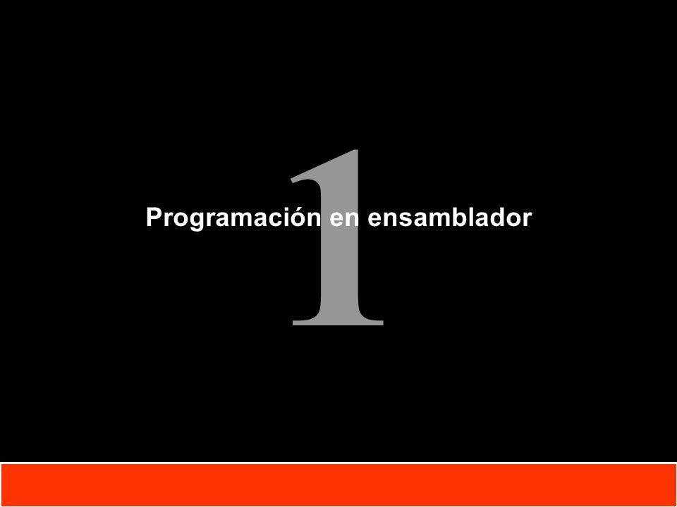 Programación en ensamblador