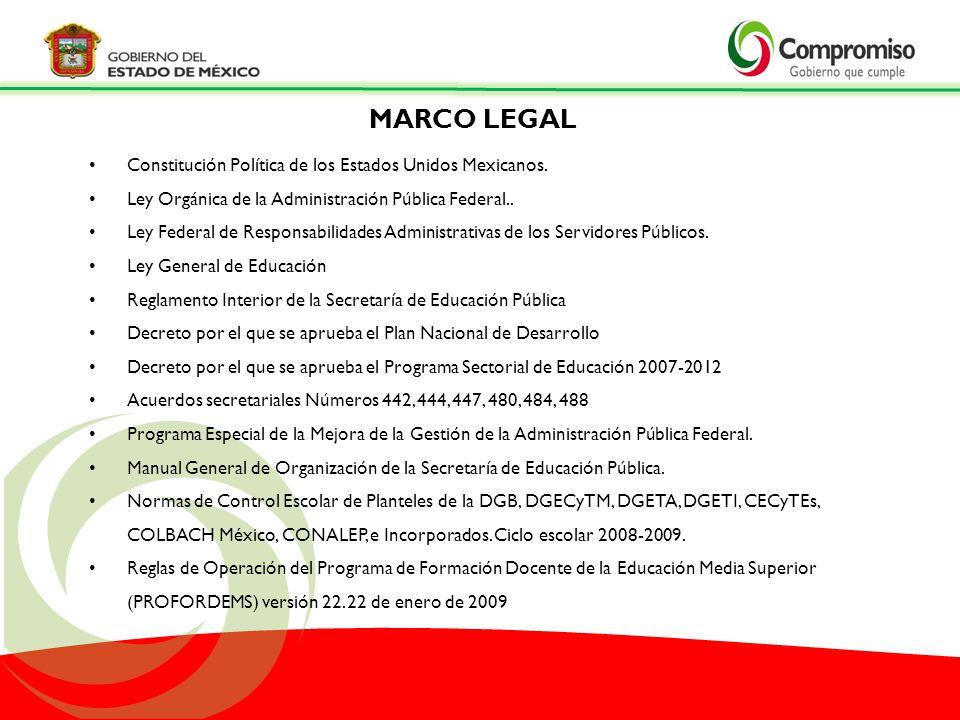 MARCO LEGAL Constitución Política de los Estados Unidos Mexicanos.