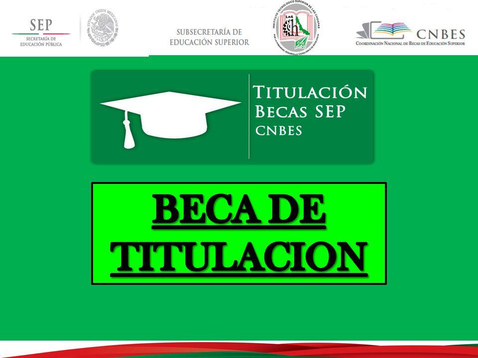 BECA DE TITULACION