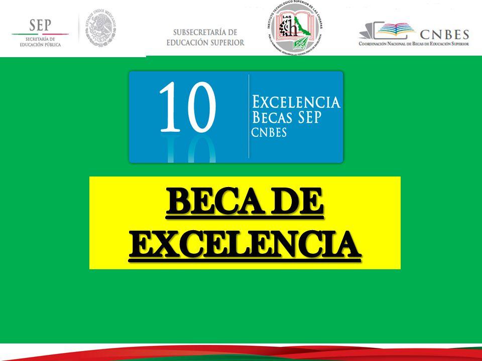 BECA DE EXCELENCIA