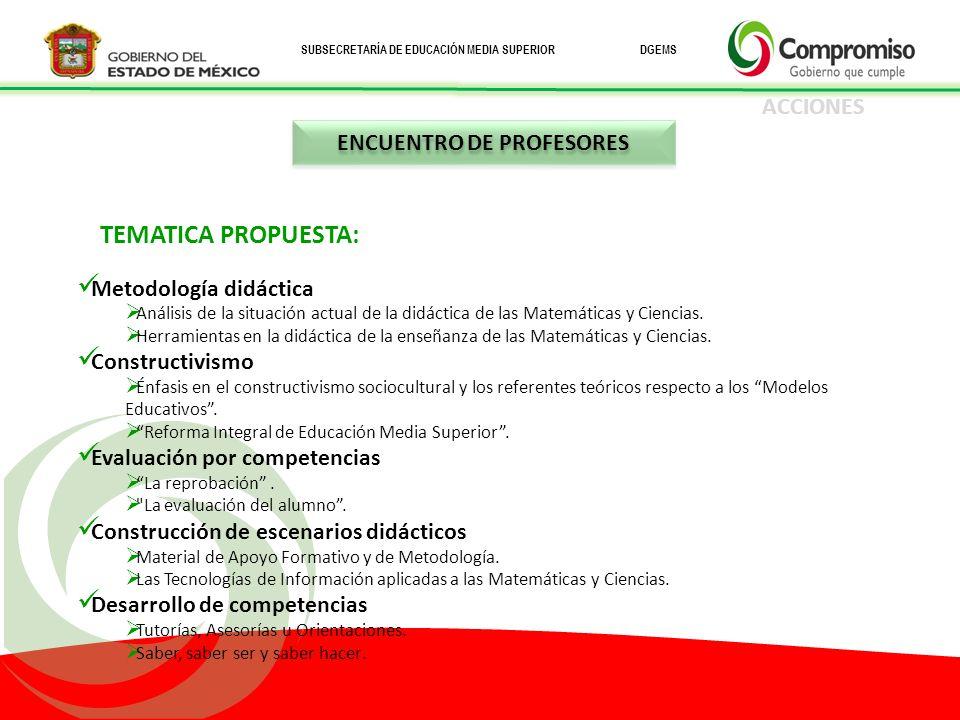 ENCUENTRO DE PROFESORES