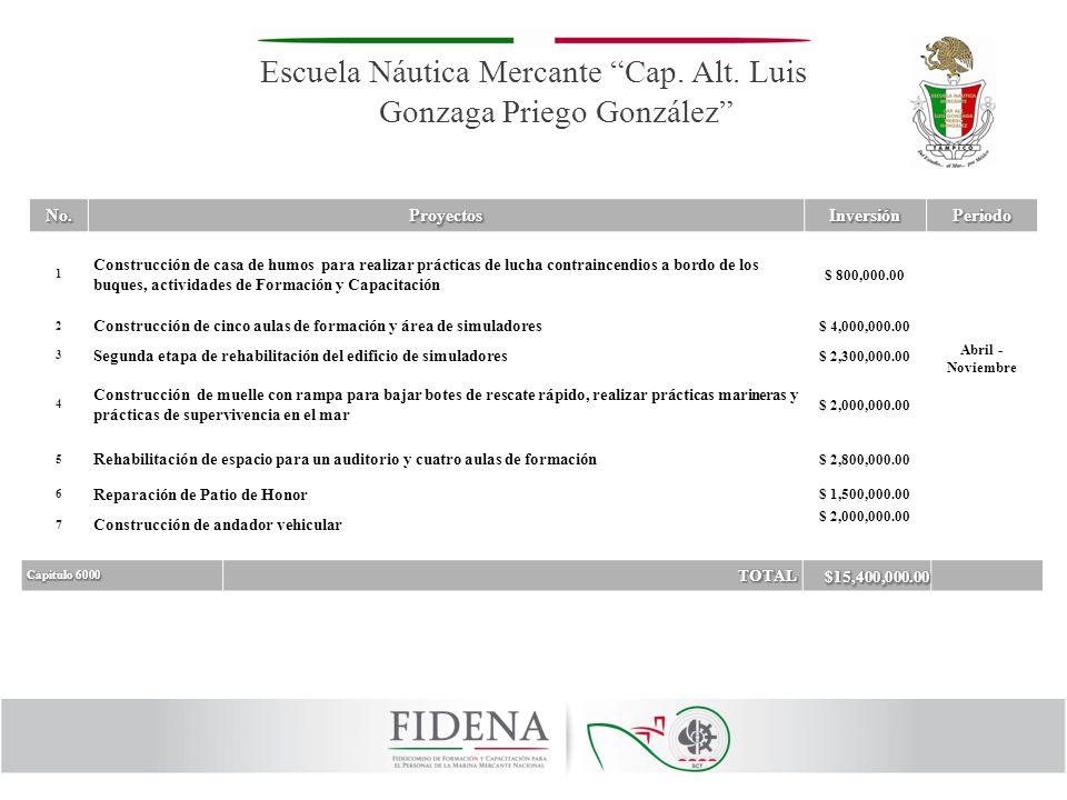 Escuela Náutica Mercante Cap. Alt. Luis Gonzaga Priego González