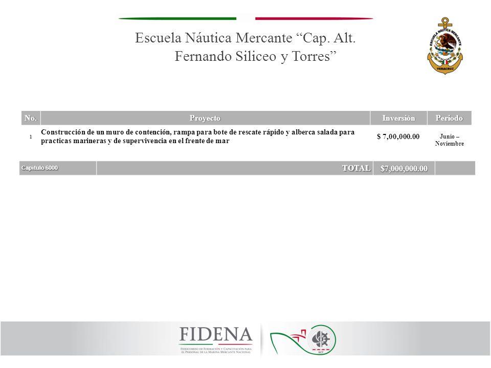 Escuela Náutica Mercante Cap. Alt. Fernando Siliceo y Torres
