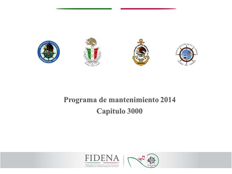 Programa de mantenimiento 2014