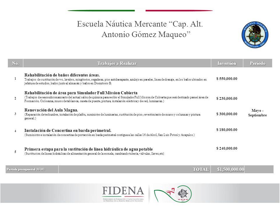 Escuela Náutica Mercante Cap. Alt. Antonio Gómez Maqueo